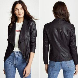 NWT BB Dakota East Side Eastside Leather Jacket